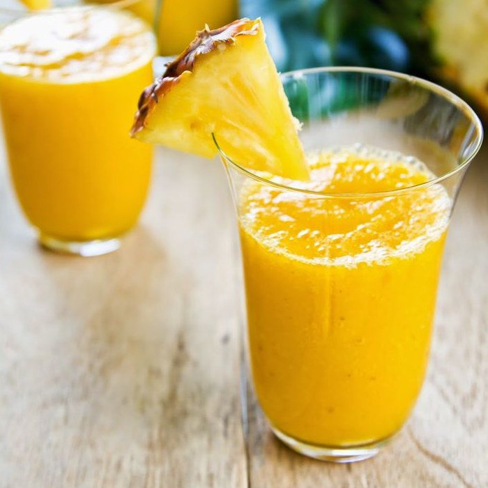 Pineapple Gingerale Smoothie