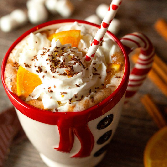 Orange Scented Hot Chocolate